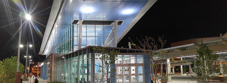 Julia M Carson Transit Center Indianapolis Downtown