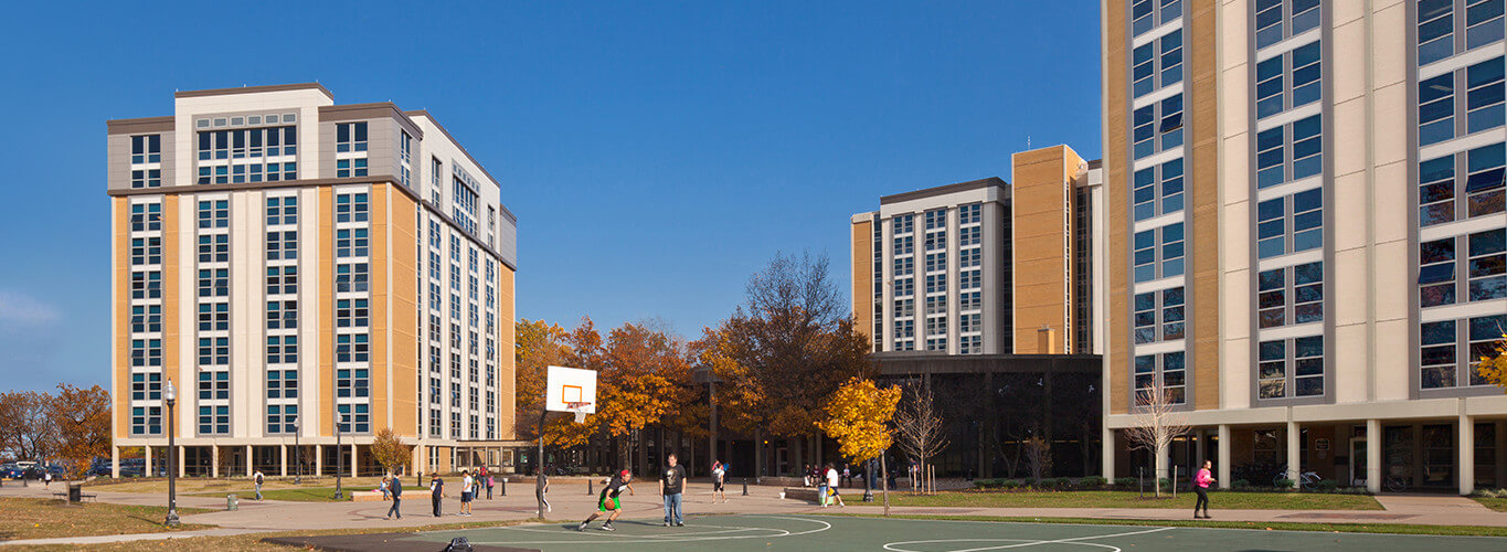Kent State University Tri Towers Residence Halls East