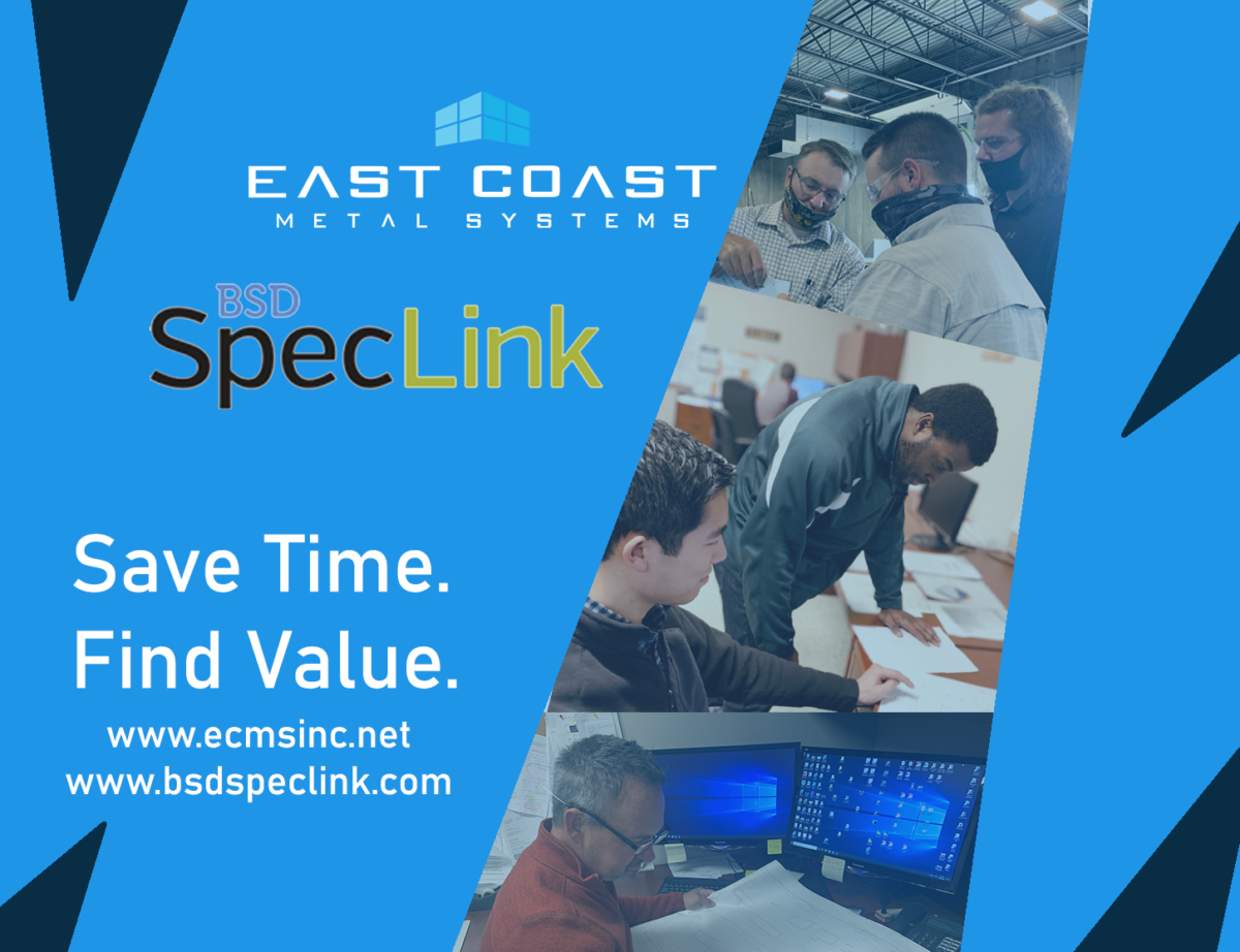 East Coast Metal Systems Can Now Be Found on BSD SpecLink